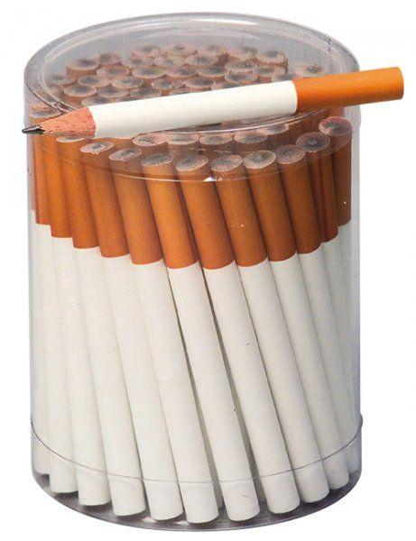 Bleistifte sehen aus wie Zigaretten