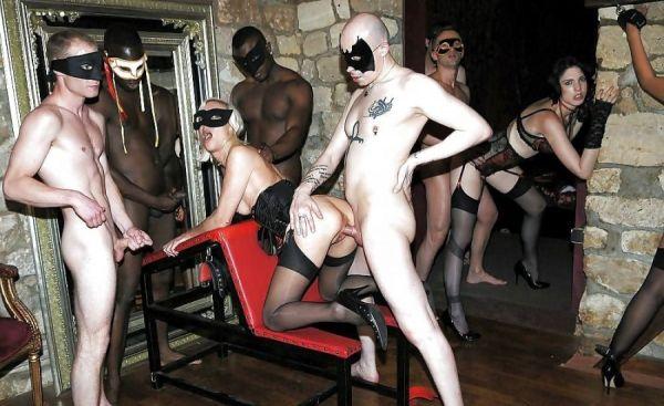 Gruppensex im Club