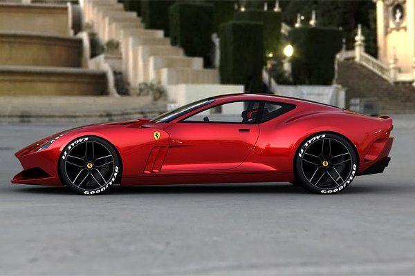 Ferrari 612 GTO Konzept
