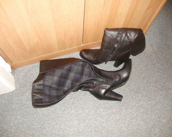 Schuhe der Nachbarin